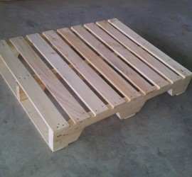 Pinewood 4 Way Stringer Pallet